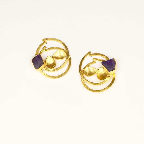 Round & Round the Garden Earrings