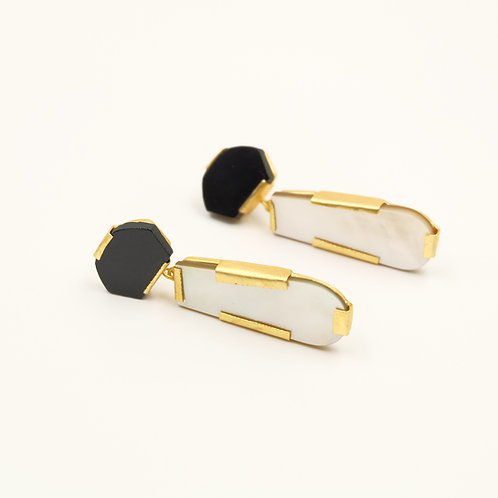 Monochrome Drops Earrings