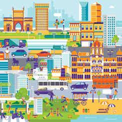 Futuristic Mumbai Map