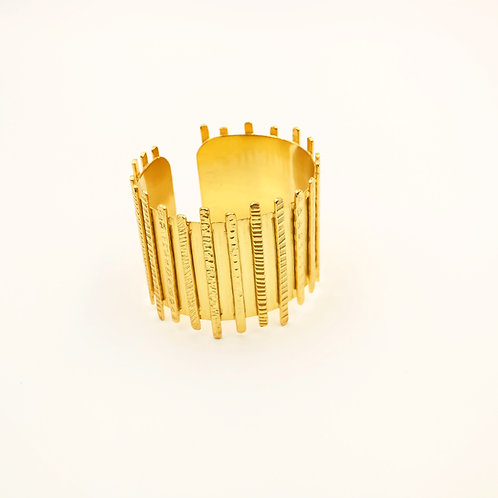 Golden Stripes Cuff