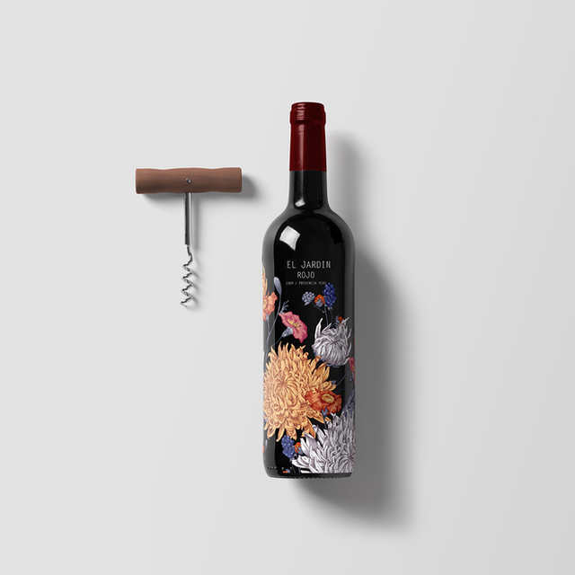 Jardin Wine | Packaging Design