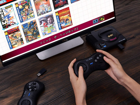 8Bitdo Launching Wireless Sega Genesis Mini Controllers