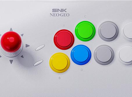 Neo Geo Arcade Stick Pro Game List Revealed & More Details