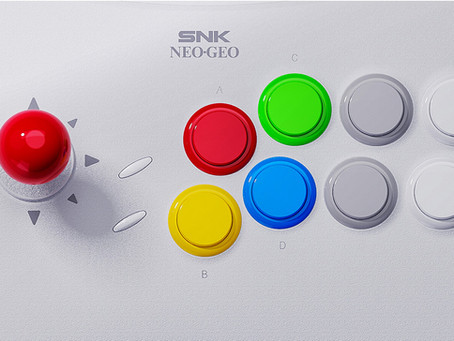 Neo Geo Arcade Stick Pro Game List Revealed & More Details