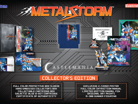 Metal Storm Collector's Edition Pre-Orders Begin