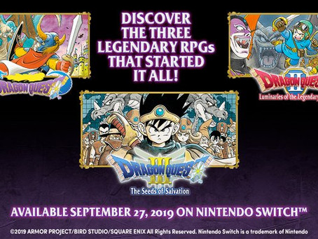 Dragon Quest I, II & III is coming to the Nintendo Switch in the USA very soon!
