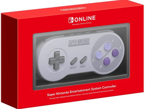 Ordering Starts For Super Nintendo Switch Controllers!