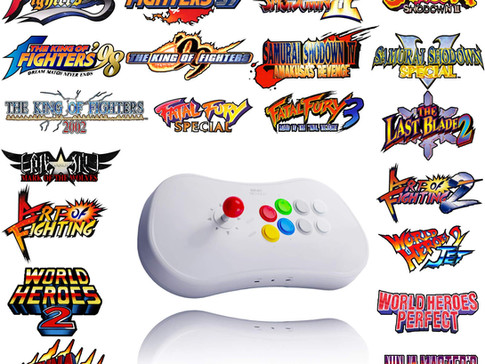 Neo Geo Arcade Stick Pro Now Up For Pre-Order