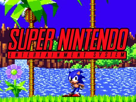 Sonic The Hedgehog SNES Tech Demo! Download Rom!