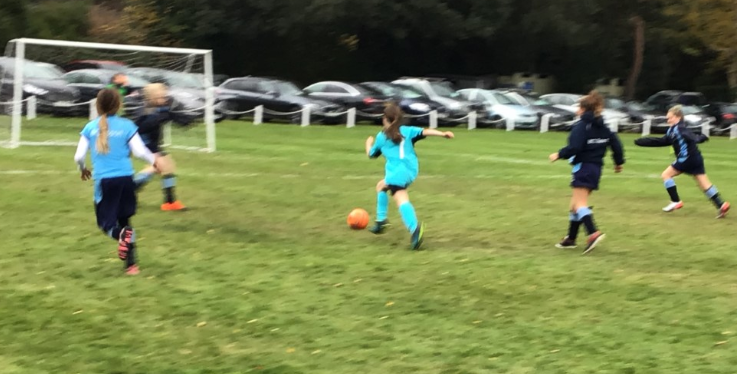 U11 Girls Football Tournament at Park School