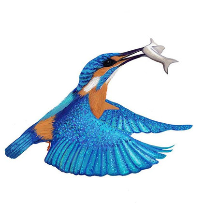 #kingfisher #digitalillustration #artoni