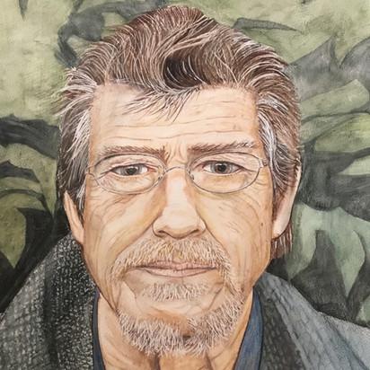 John Hurt Watercolour