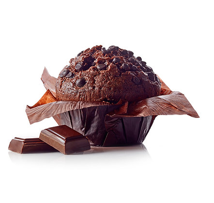 Double Choc Salted Butter Caramel Muffin