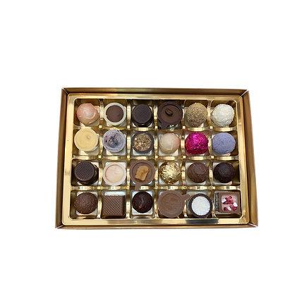 Box of 24 handmade chocolates