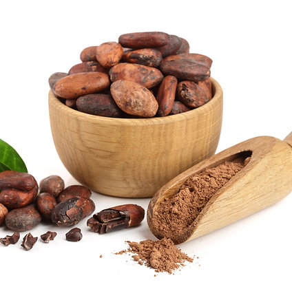 Cocoa Beans covered in 100 percent Madagascan Chocolate 300g