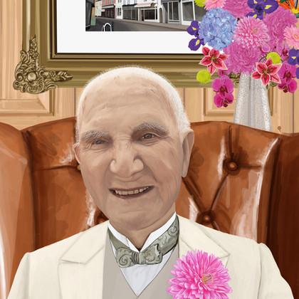 Wilf portrait commission