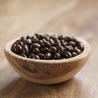Chocolate covered Colombian coffee beans