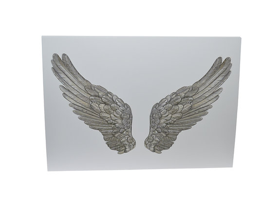 Illustrated greeting card - Angel Wings