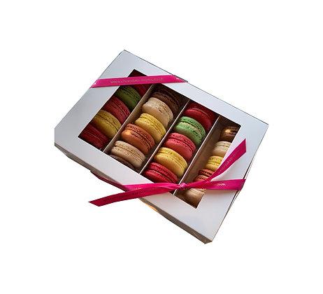 12 Box of Handmade Macarons