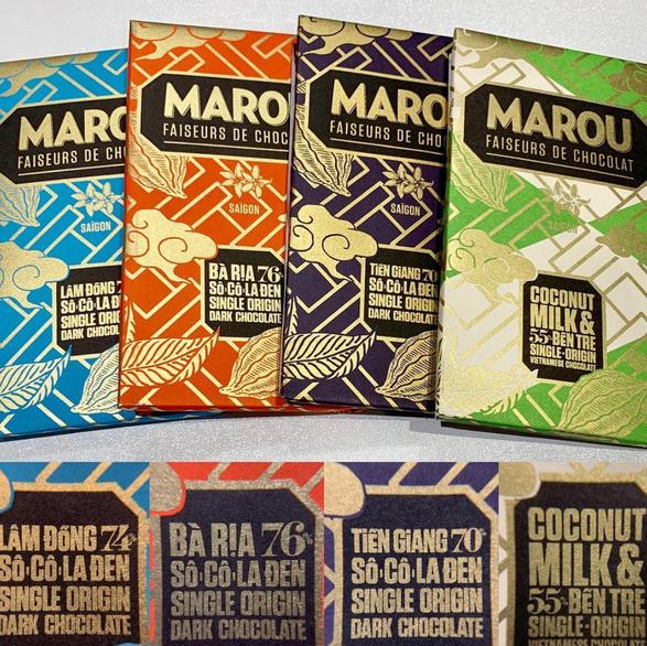 Marou Chocolate Bars from Vietnam