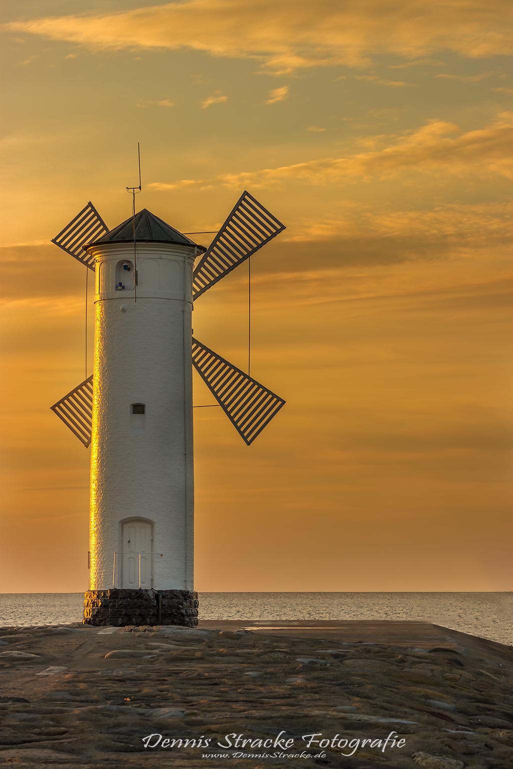 Leuchtturm Swinemünde Mühlenbake Pol