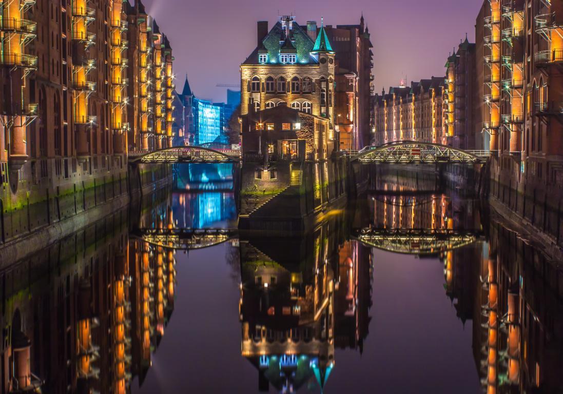 Wasserschloss Hamburg Speicherstadt