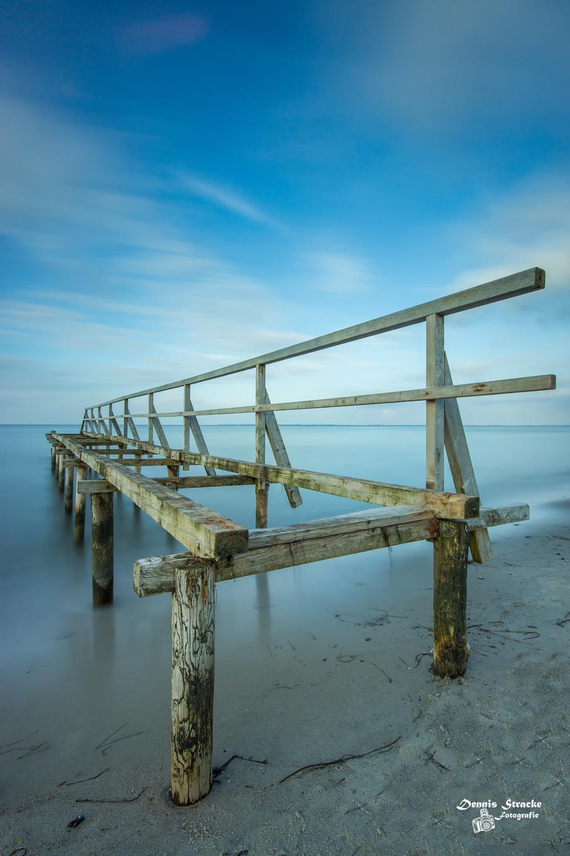 Steg an der Ostsee Heiligenhafen