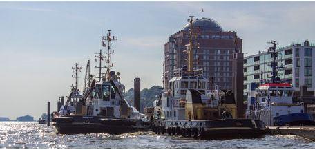 Hamburger Hafen Schlepper