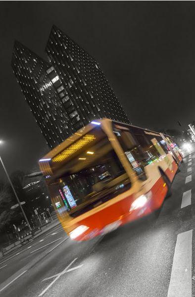 Bus HVV Reeperbahn Hamburg Elbe
