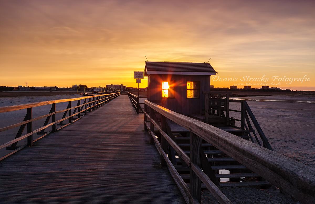 Das Goldene Haus am Strand