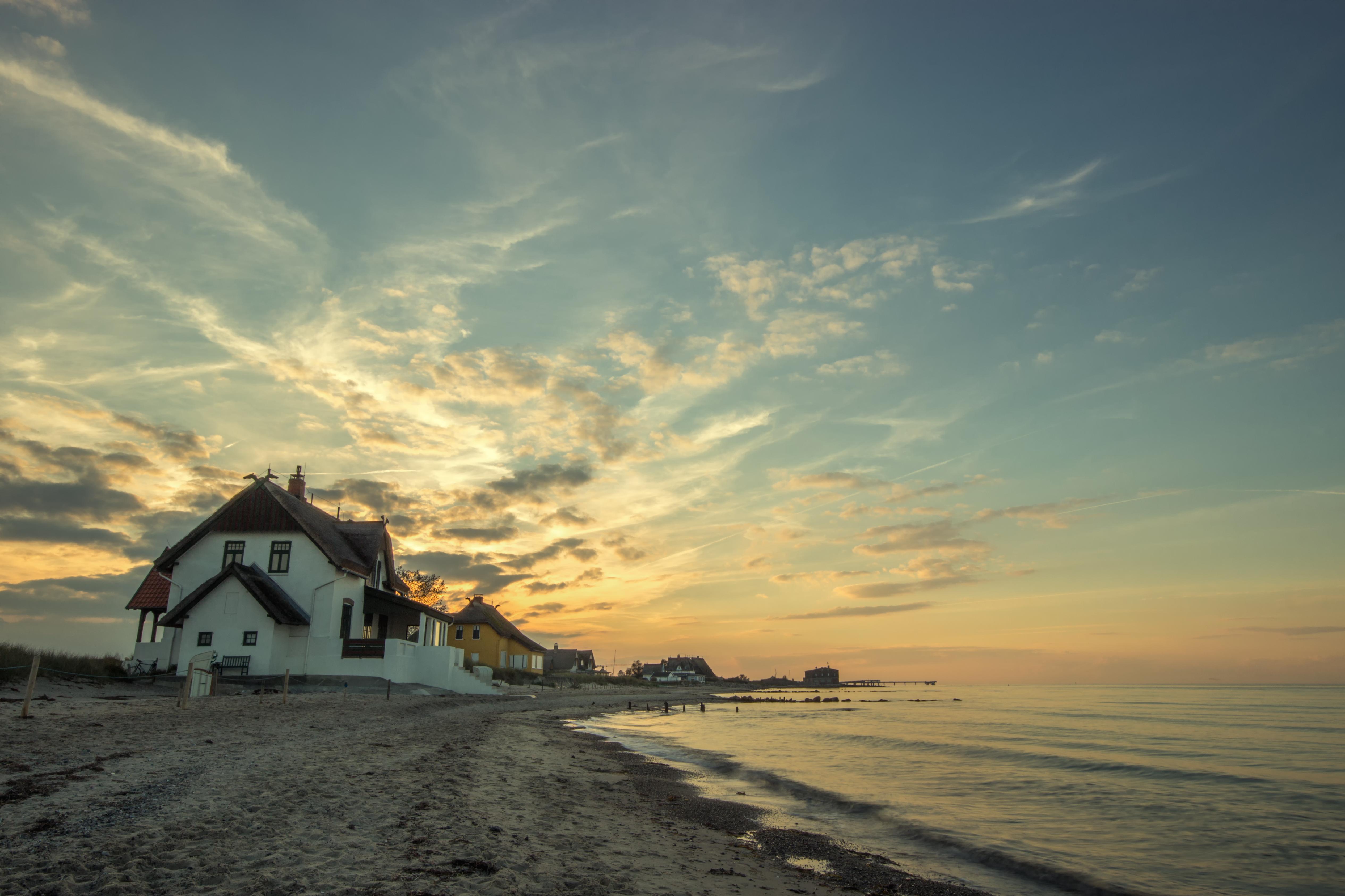 Ferienhaus am Strand von Fehmarn