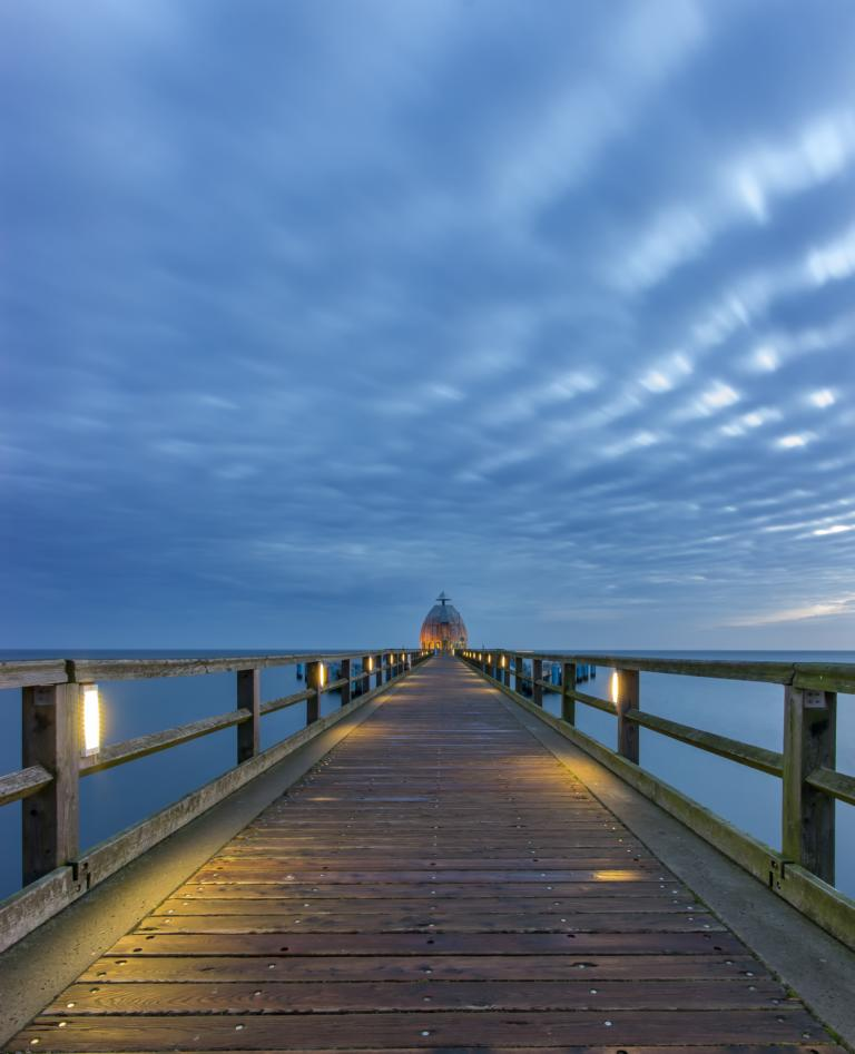 Tauchgondel auf der Seebrücke Sellin