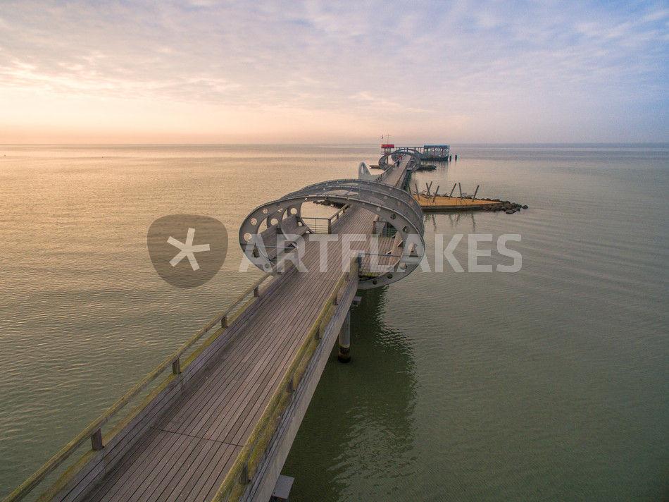 Kellenhusen Ostsee Seebrücke Strand