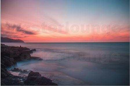 Sonnenaufgang am Mittelmeer Mallorca