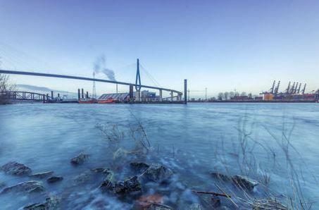 Köhlbrandbrücke Hamburg Elbe