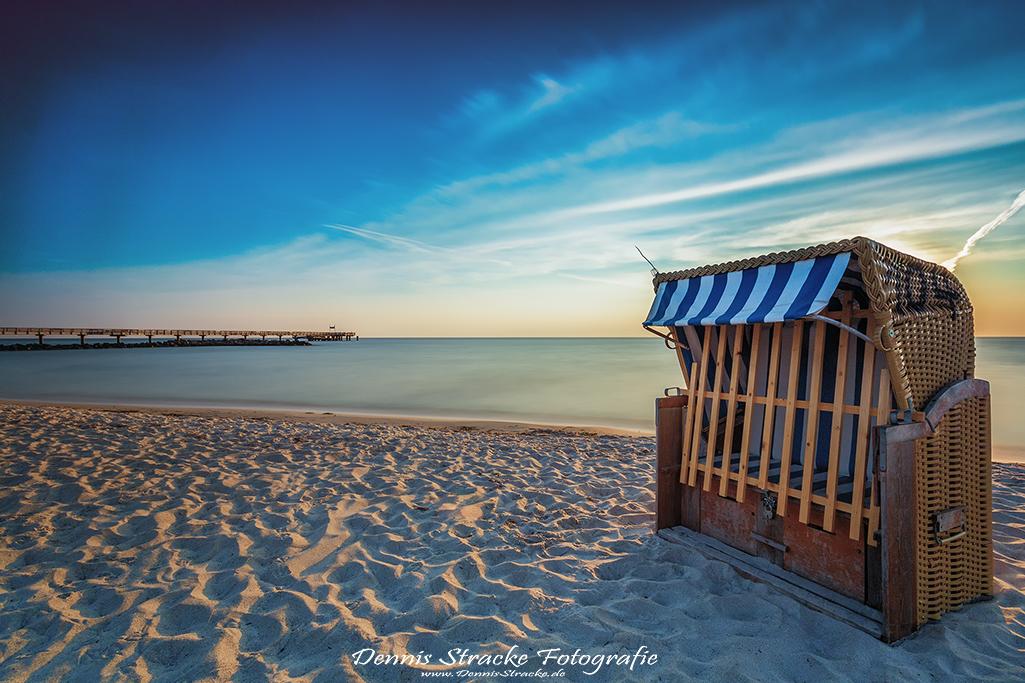 Schönberger Strand am Morgen Ostsee