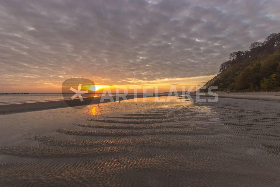 Sonnenaufgang auf Rügen bei Sellin