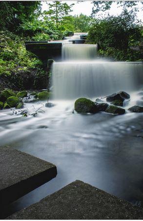 Wasserfall Planten un Blomen
