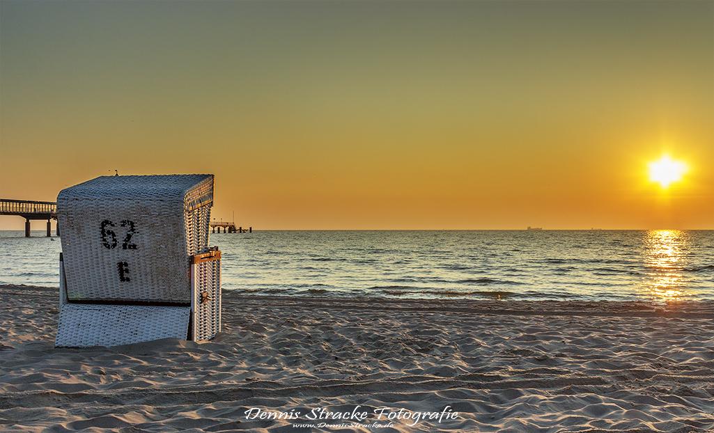 Morgens an der Ostsee auf Usedom