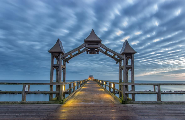 Seebrücke Sellin auf Rügen Ostsee