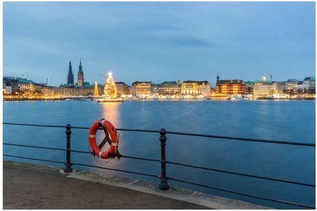 Weihnachten an der Alster Hamburg