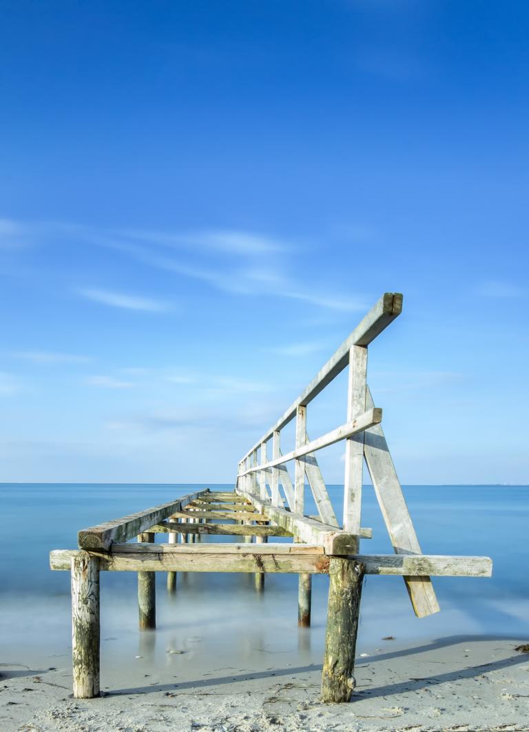 Alter Steeg an der Ostsee