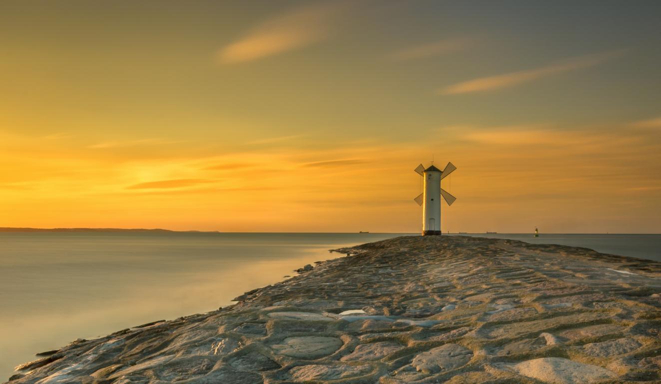 Leuchtturm Swinemünde Polen Ostsee