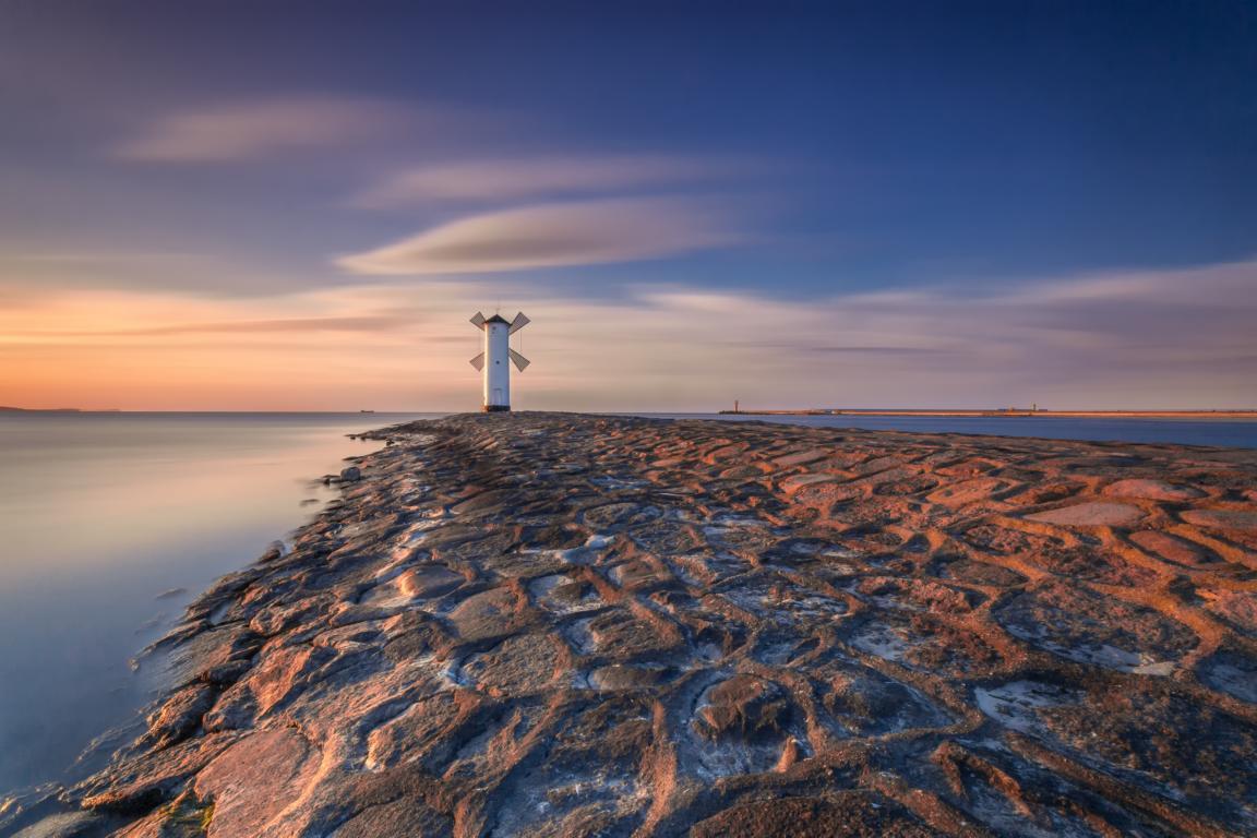 Leuchtturm Usedom Ostsee Swinemünde