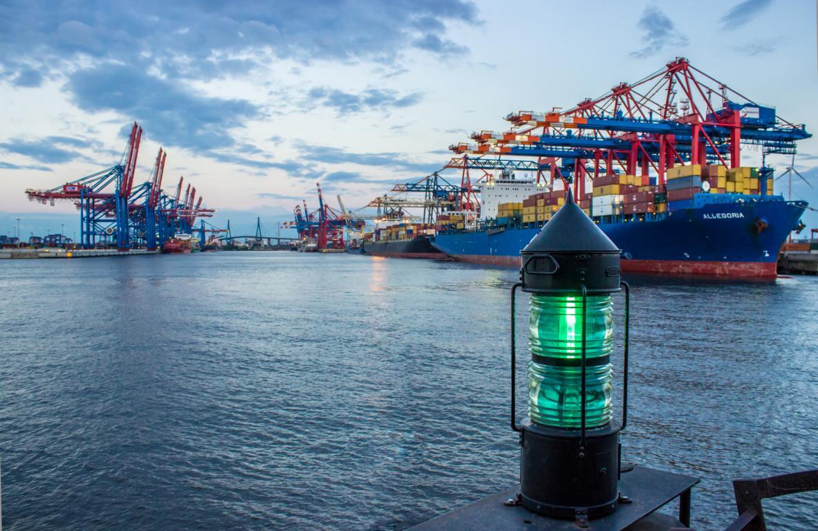 Hamburger Hafen am Tankweg