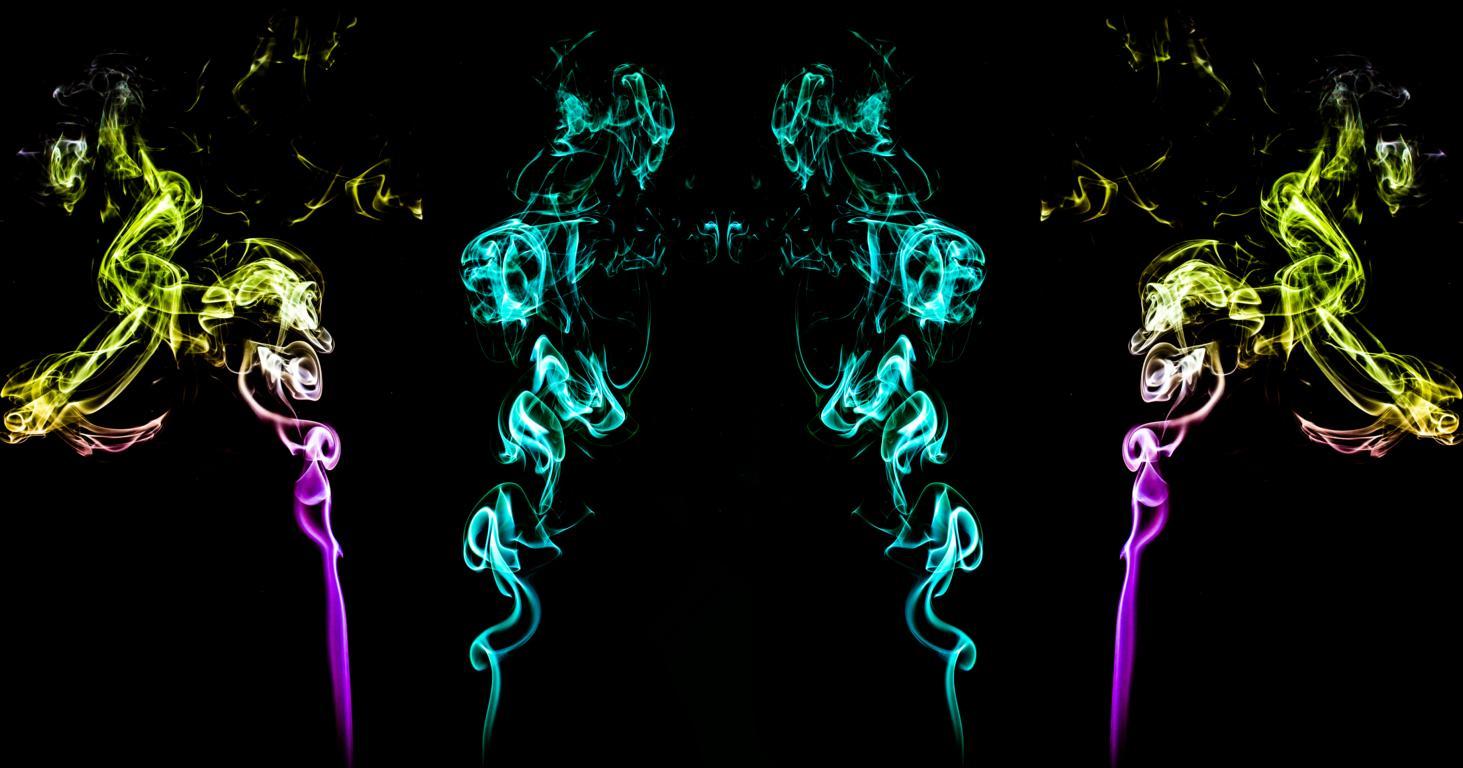 Die 4 Damen Rauchbild