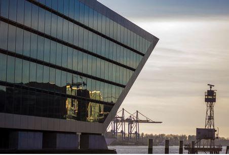 Dockland im Hamburger Hafen