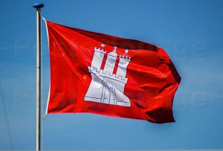 Hamburg Flagge Wanddekoshop