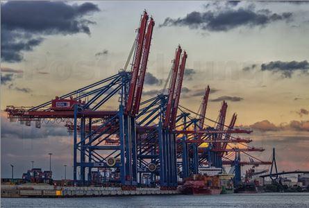 Waltershofer Hafen Hamburg