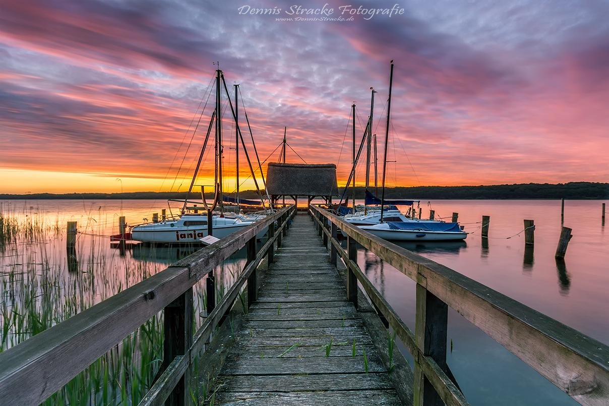 Sonnenaufgang am Ratzeburger See